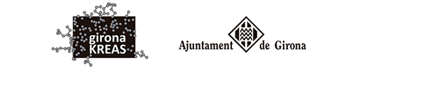 Logos de l'Ajuntament de Girona, beca kreas
